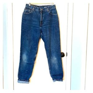 Vintage 90s Levis 550 tapered jeans